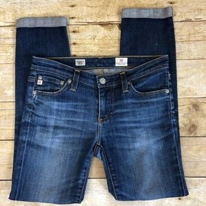 AG Stilt Roll-Up Cigarette Jeans